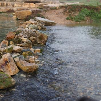 cool spring water